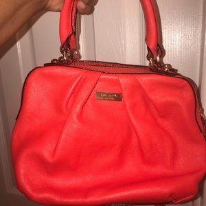 Kate Spade Red Coral Crossbody Purse